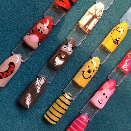 Character nail art